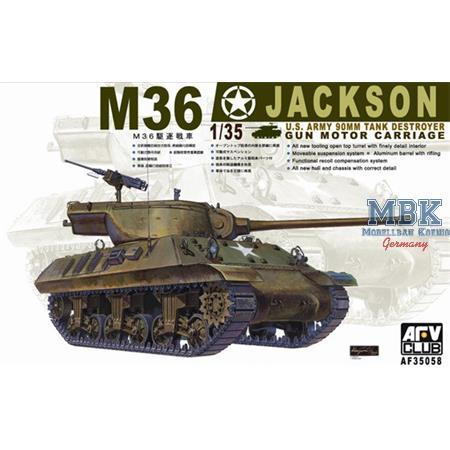 M-36 Jackson - Tank Destroyer