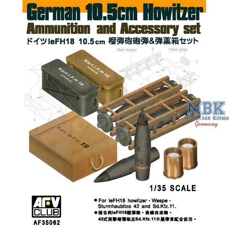 LeFH18 Howitzer Ammunition & Accessory Set
