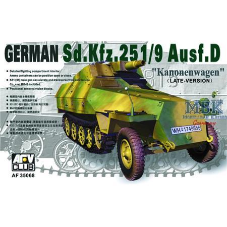 "Sd.Kfz. 251/9 Ausf. D \""Kannonenwagen\"""