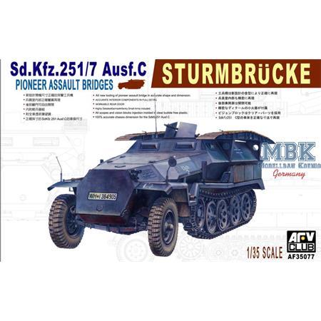 Sd.Kfz. 251/7 Ausf. C mit Sturmbrücke