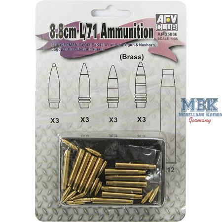 88mm L/71 Munition