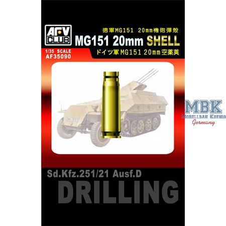 2 cm Munition für MG 151