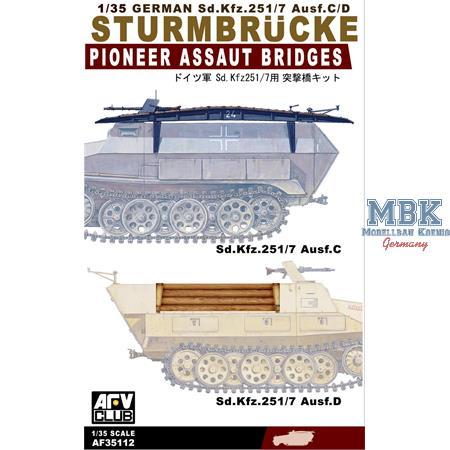 Sturmbrücke für 251/7 Ausf. D/C