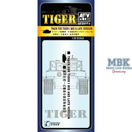 Tiger I Mid/Late - Gummiketten