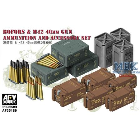 Bofors & M42 40mm Gun Ammo & Accessory Set