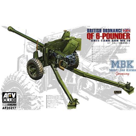 Ordnance QF 6PDR. Gun (late)