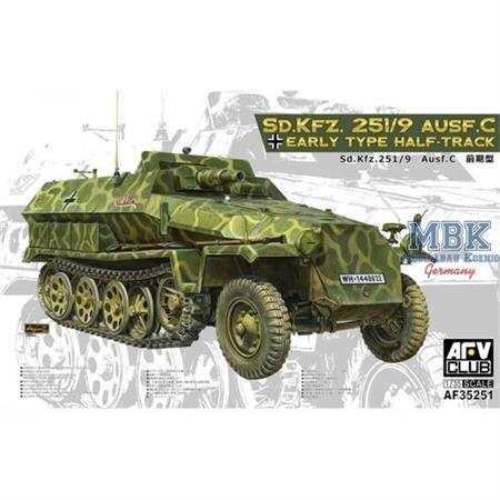 Sd.Kfz.251/9 Ausf.C Early Production
