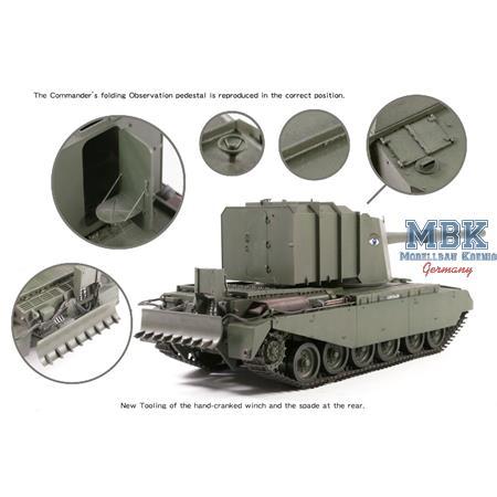 BRITISH TANK DESTROYER FV4005 STAGE II