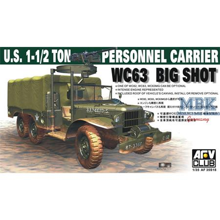 "US 1.5ton WC63 ""Big Shot"" Personnel Carrier"