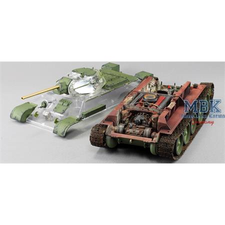 T-34/76 1942 Factory 112 Full Interior Kit