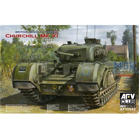 Churchill Mk. VI / 75mm Gun