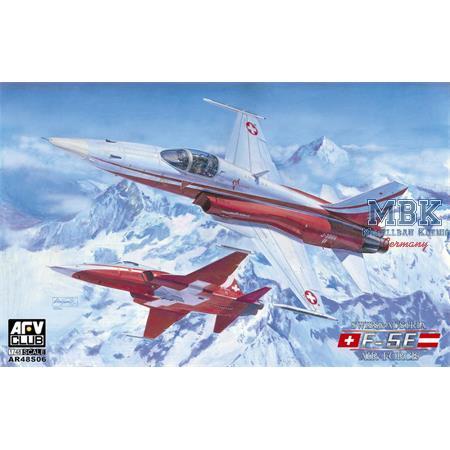 F-5E Swiss & Austria Air Force  1:48