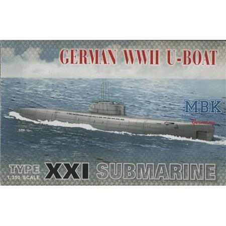 German Typ XXI Submarine