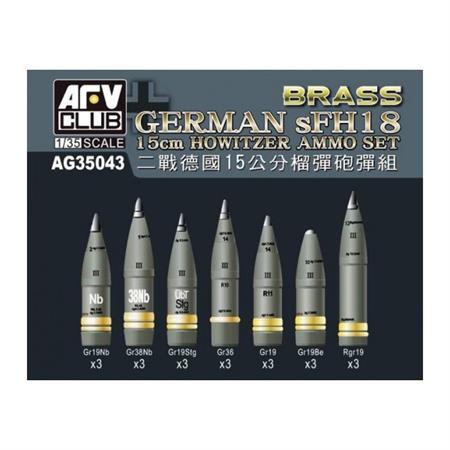 sFH18 15cm Howitzer Ammo Set