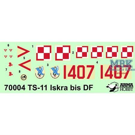 PZL TS-11 'Iskra' bis DF junior set