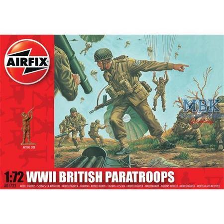 Britische Fallschirmjäger