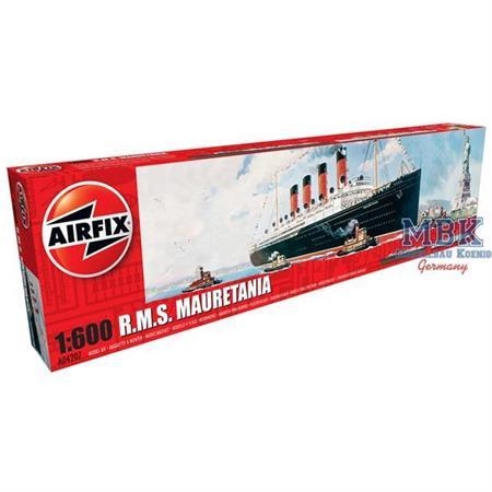 RMS Mauretania 1:600