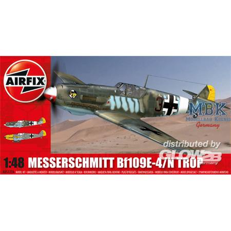 Messerschmitt Bf109E-4/N - Tropical
