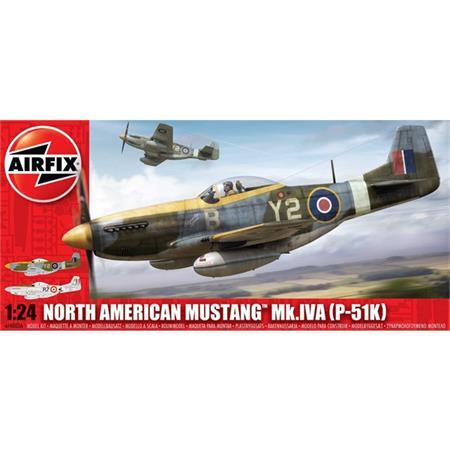 North American P-51D/K Mustang IVA
