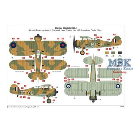 Ju87R-2 - Gloster Gladiator Dogfight Gift Set