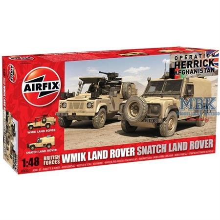 British Forces Land Rover Twin Set