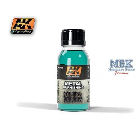 Metal Burnishing Fluid - Kettenfärbemittel (neu)