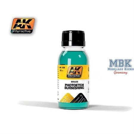 Brass PE Burnishing Fluid - PE/Messingfärbemittel