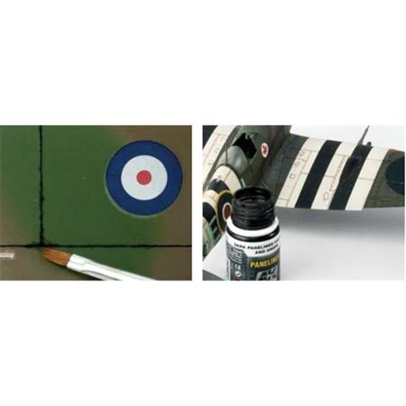 Paneliner for brown & green Camouflage
