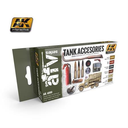 Tank accessories color Set