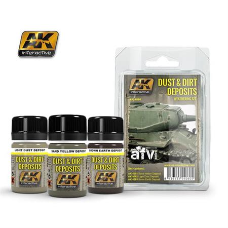 Dust & Dirt Deposit Weathering Set