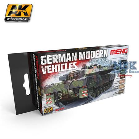 German Modern Vehicles Colors Set (Bundeswehr)