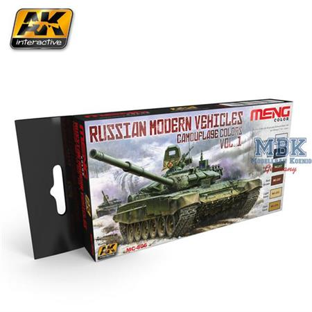 Russian Modern Vehicles Camouflage Colors Vol. 1