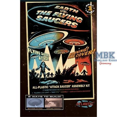 Earth vs. The Flying Saucers Attack UFO