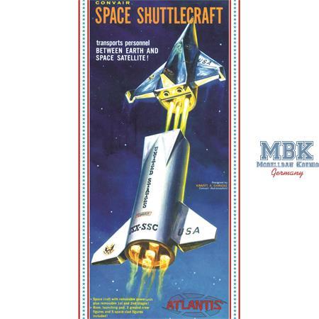 Convair Space Shuttlecraft ISX-SSC (1:150)