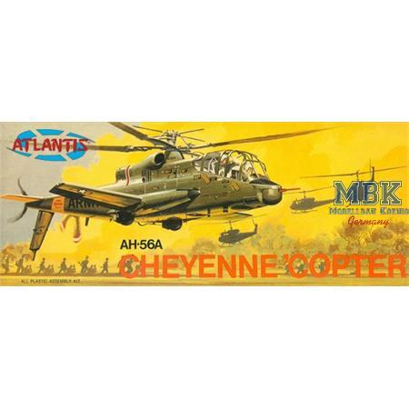 AH-56A Cheyenne 'Copter Plastic Model Kit
