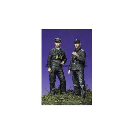 Late War WSS Panzer NCO Set (2 Figuren)