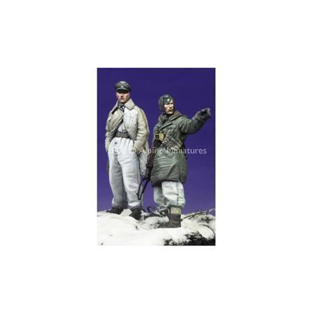 SS Officers - LAH Kharkov #2 Set (2 Figuren)