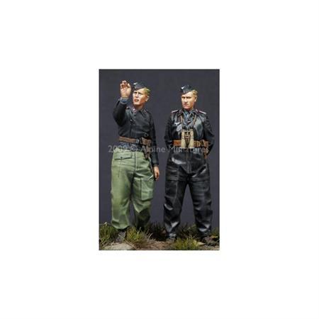 German Heer Panzer Crew Set (2 Figuren)