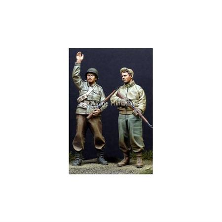 WW2 US Infantry Set (2 Figuren)