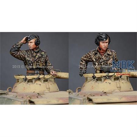 WSS Panzer Commander Set (2 Figuren)