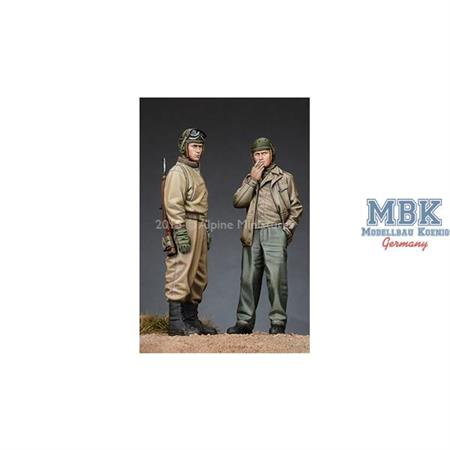 US Tank Crew Set (2 Figuren)