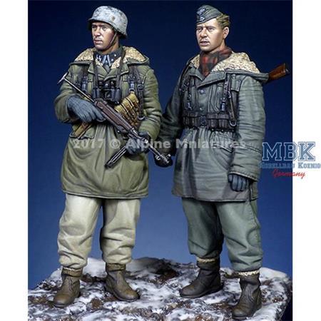 Waffen SS Grenadiers at Kharkov Set   2 Fig.