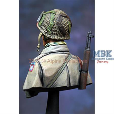 "82nd Airborne ""All Amrican""  Bust 1/16"