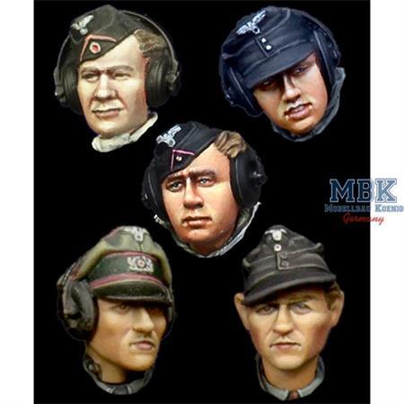 German Panzer Crew Head Set #1