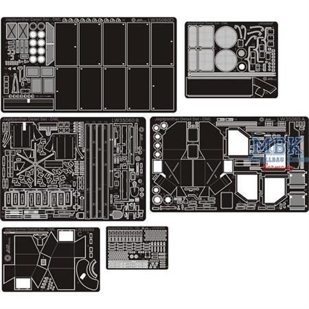 Jagdpanther G Detail Set For Dragon Smart Kits