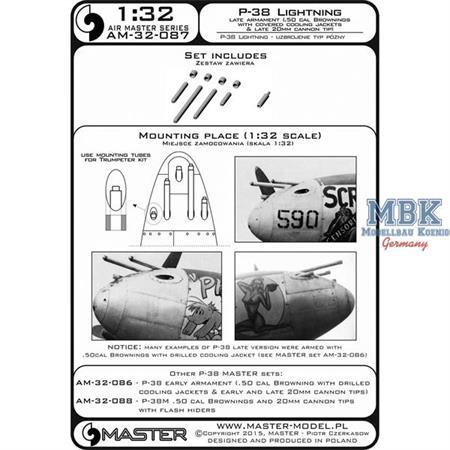 P-38 Lightning - late armament