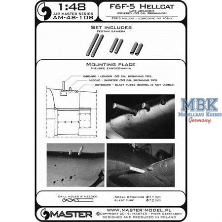 F6F-5 Hellcat - late armament