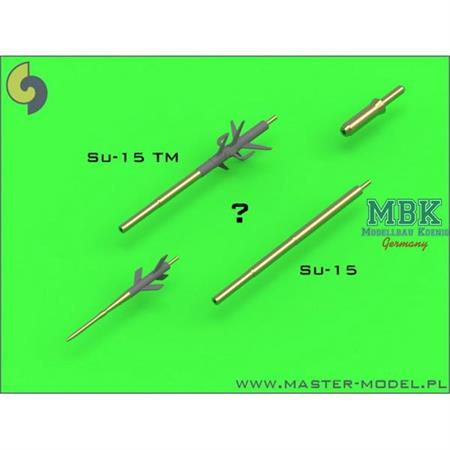 SU-15 Pitot Tubes (optional parts for all versions
