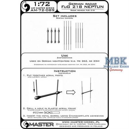 "German Radar FuG 218 ""Neptun"" 1:72"