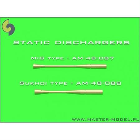 Static dischargers - used on Sukhoi jets (14pcs)